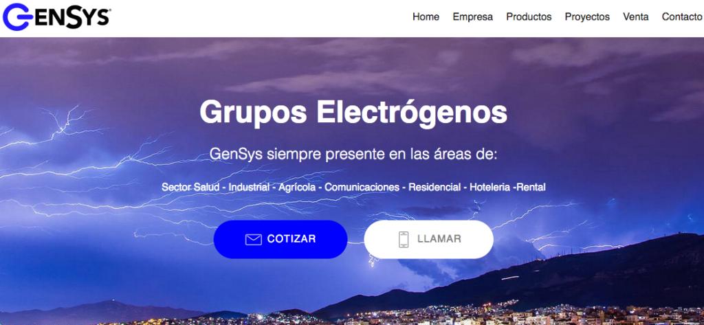 Reparación de grupo electrógeno.